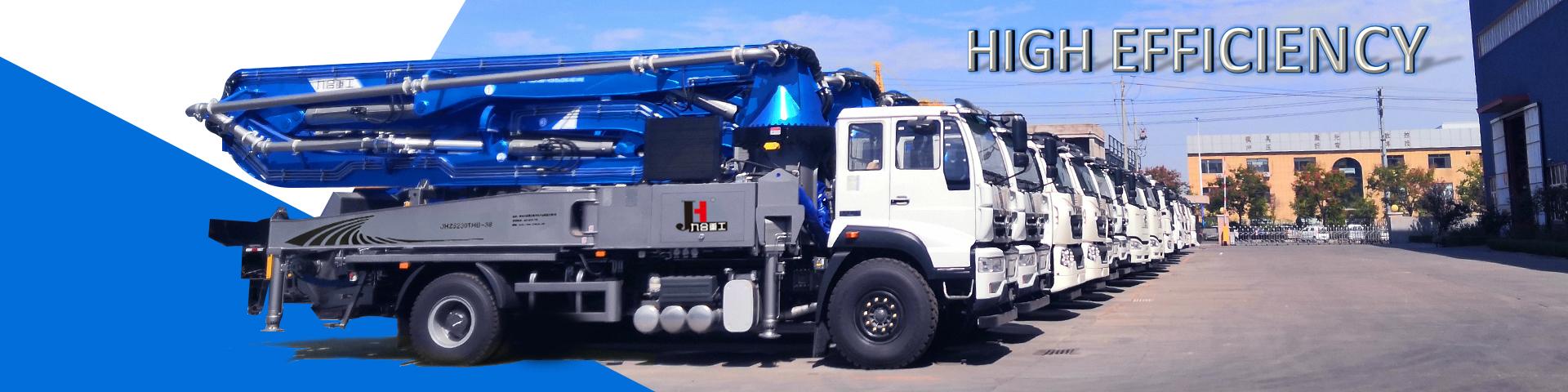 Concrete pump truck,concrete boom pump truck