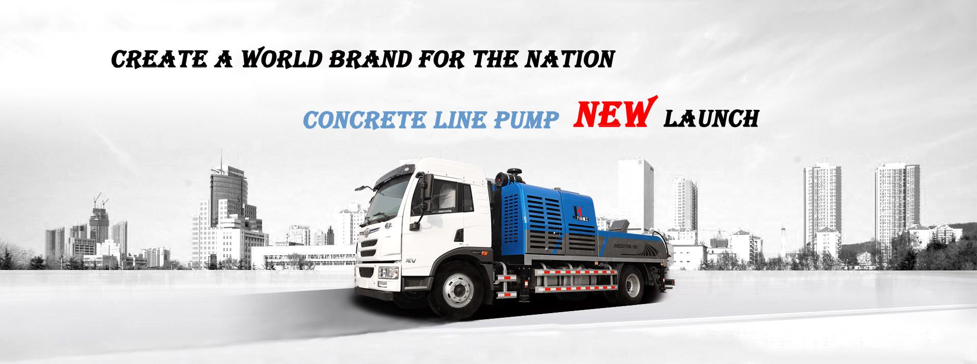 Concrete Line Pump Truck,Truck Mounted Concrete Pump