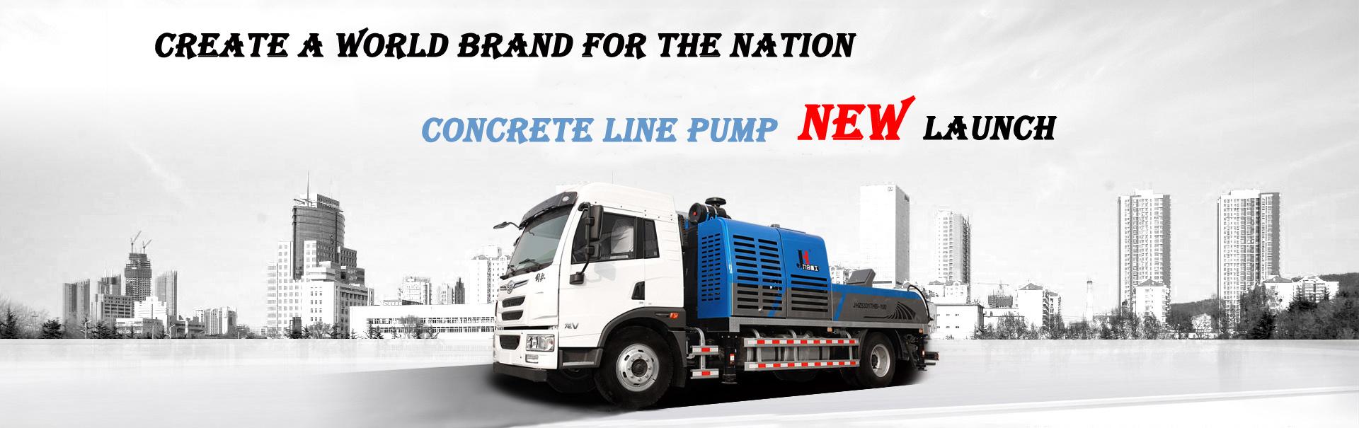 Concrete Line Pump Truck,Truck Mounted Concrete Pump