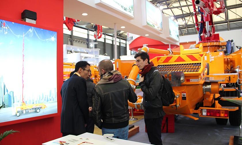 Bauma China 2016 in Shanghai