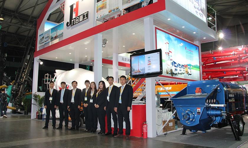 Bauma China 2014 in Shanghai