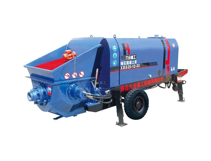 Electric Engine Small Concrete Pump XBS25-12-33