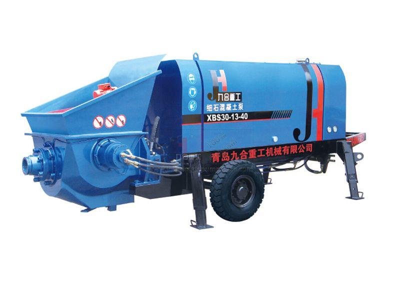 Small Electromotor Concrete Pump XBS30-13-40