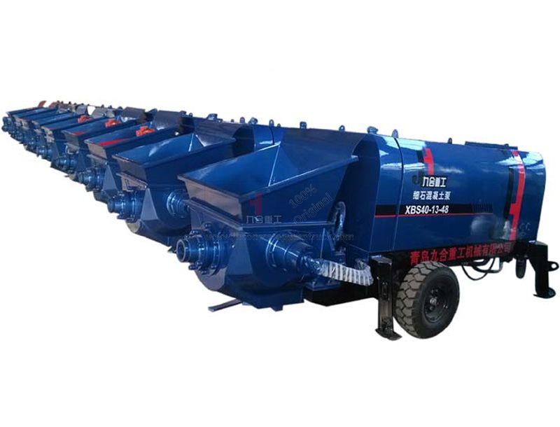 Small Electromotor Concrete Pump XBS40-13-48