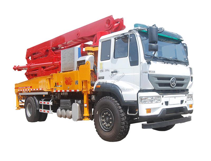 33m concrete pump truck
