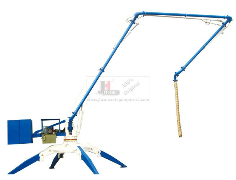 HGY15 mobile concrete placing boom