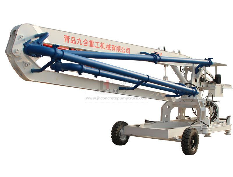HGD15 wheel mobile concrete placing boom