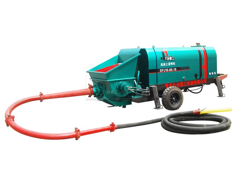 SPJ10 Wet shotcrete machine