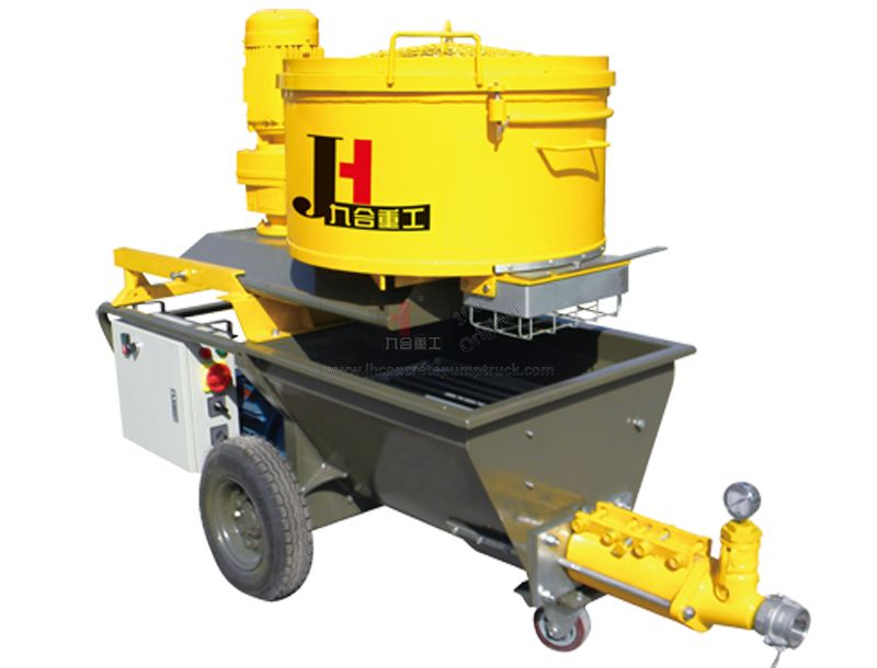 N9 auto wall putty mortar plastering machine