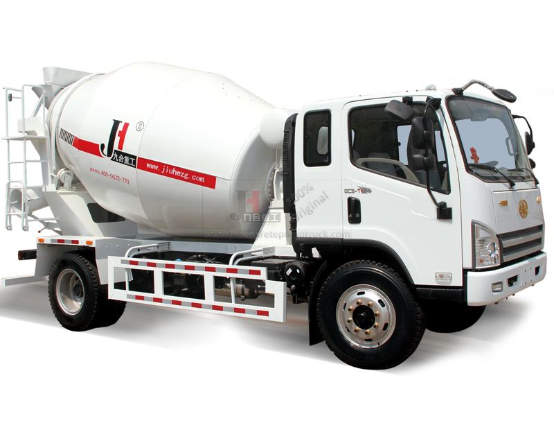 4m3 concrete mixer truck