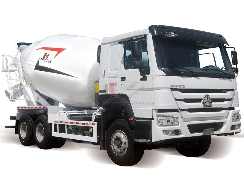 10m3 Concrete Mixer Truck