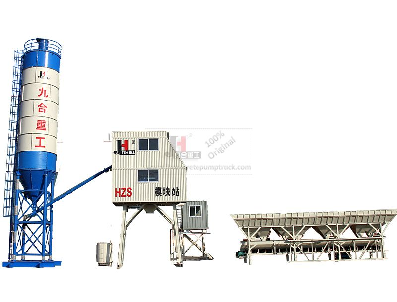 HZS50 concrete mixing plant