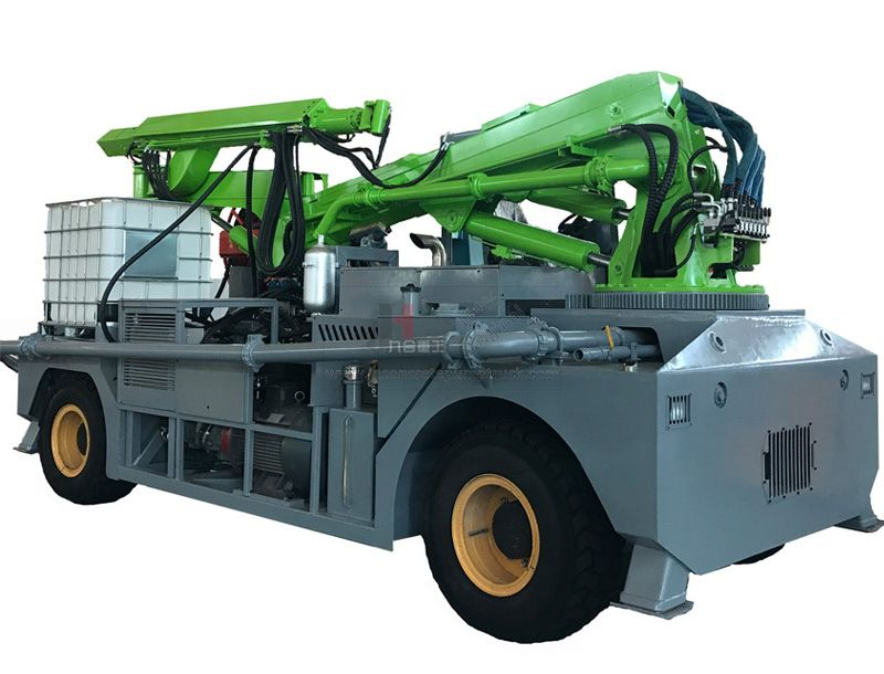 JHGHP30 Engineering chassis wet shotcrete machine