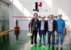 Algeria clients visited JIUHE factory