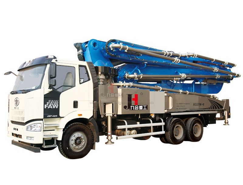 Large Concrete Pump - Professional Concrete Pump Equipment