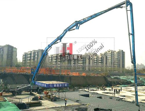china concrete pump truck