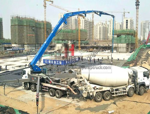 56m concrete pump
