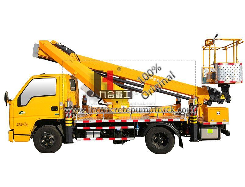 21M high altitude working truck