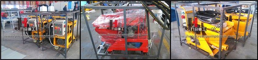 N2 semi auto cement putty mortar plastering machine