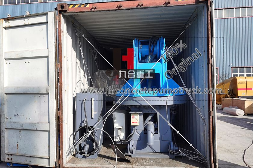 JIUHE keep machine delivery in March